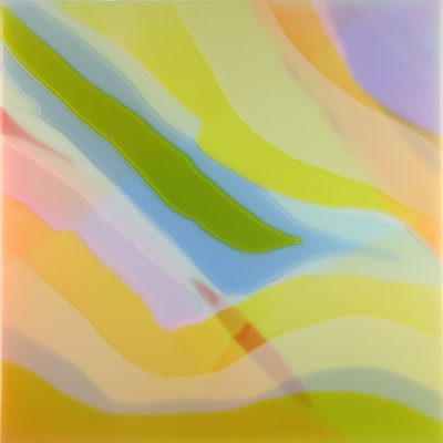 Light Waves 2 || 60x60 2018