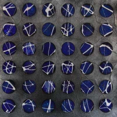 Spheres Blue