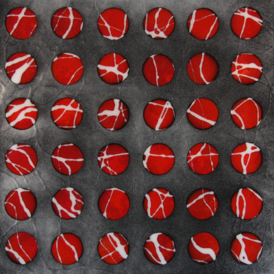 Spheres Red