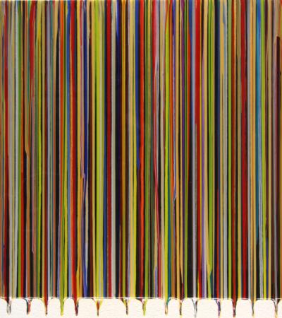 Human Barcode Drips 1